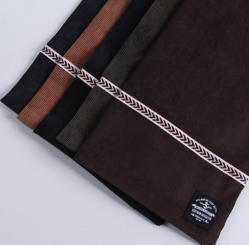 CORDUROY MINI STOLE (5 COLOR)