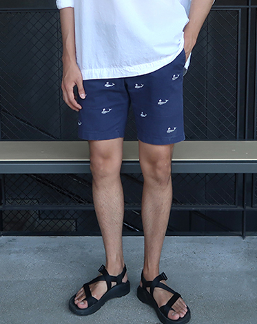 [MADE] ralph Whale Shorts (navy) (당일배송)